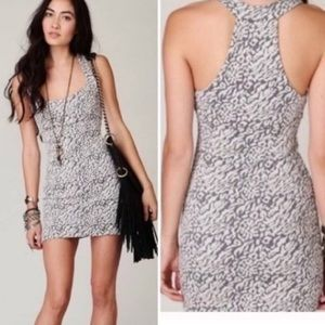 🐣 Free People BODYCON racer back dress size XS